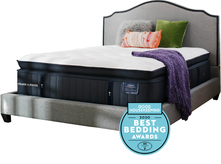Lux Estate Cassatt Mattress Winner of Good Housekeepings 2020 Best Bedding Award