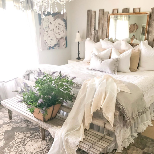 a Lux Estate Hybrid in a styled bedroom by becky.cunningham